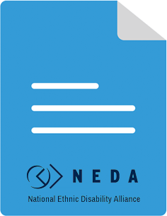 NEDA National Ethnic Disability Council